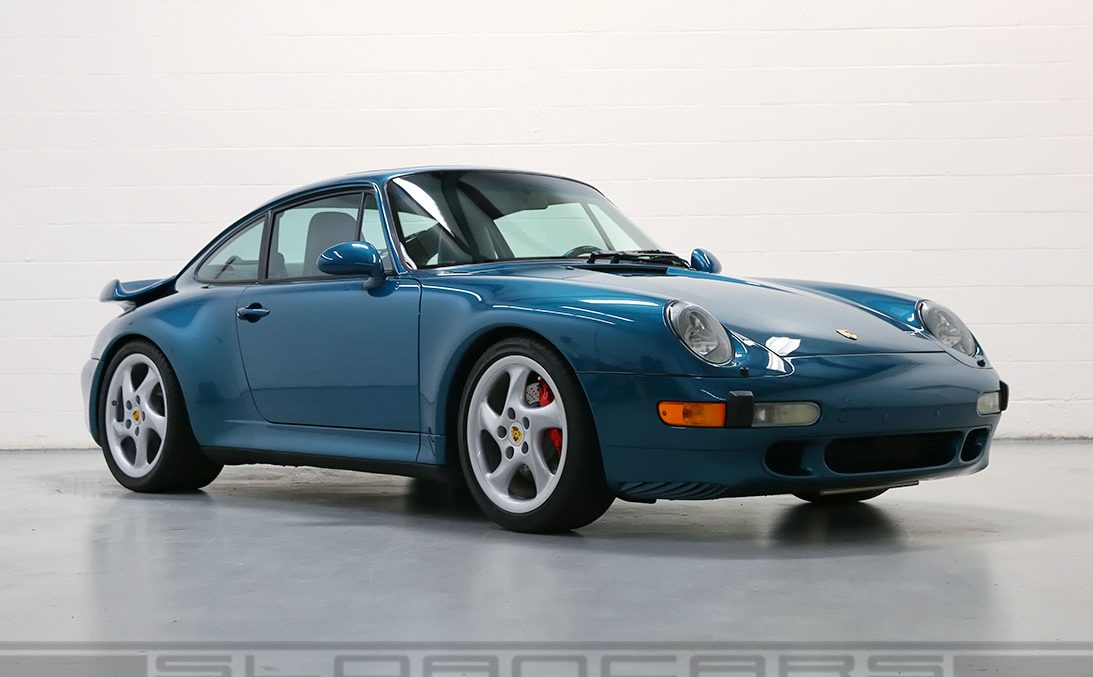 1996 993 Twin Turbo Turquoise Blue 23 687 Miles Sloan