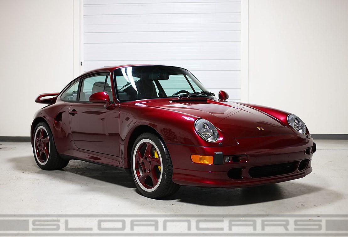 1997 Porsche 993 Turbo S Arena Red 7 085 Miles Sloan Motor Cars