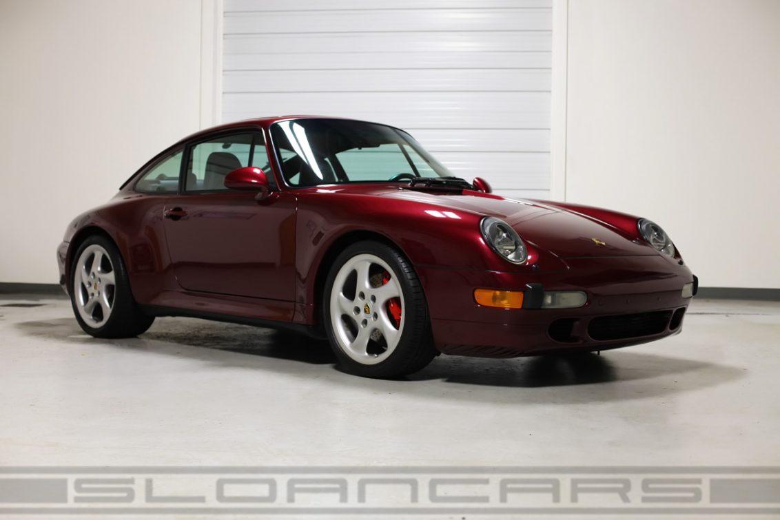 1998 Porsche 993 C4s Coupe 41 187 Miles Sloan Motor Cars