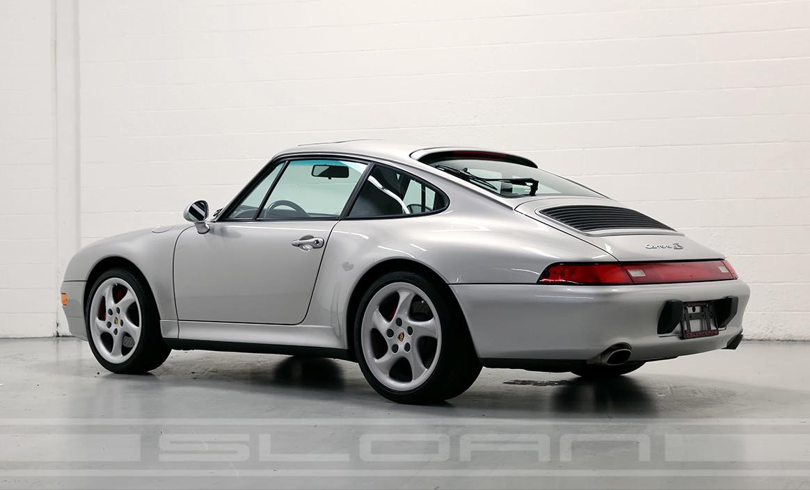 1997 Porsche 993 Carrera 4s Arctic Silver Black 12 330