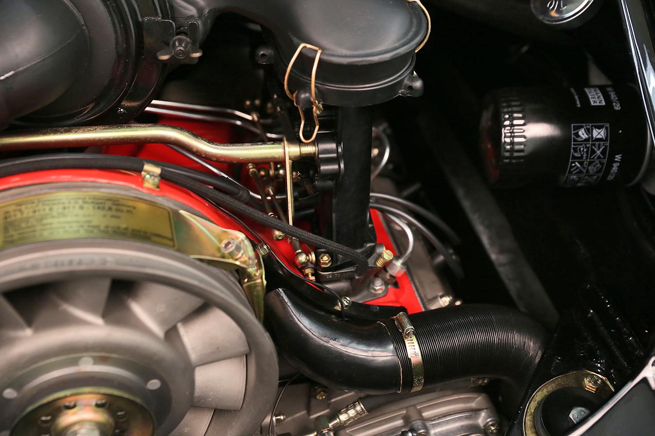 1973 Porsche 911s Black Tan Concours Restoration Sloan Motor Cars 911 Fuel Pump