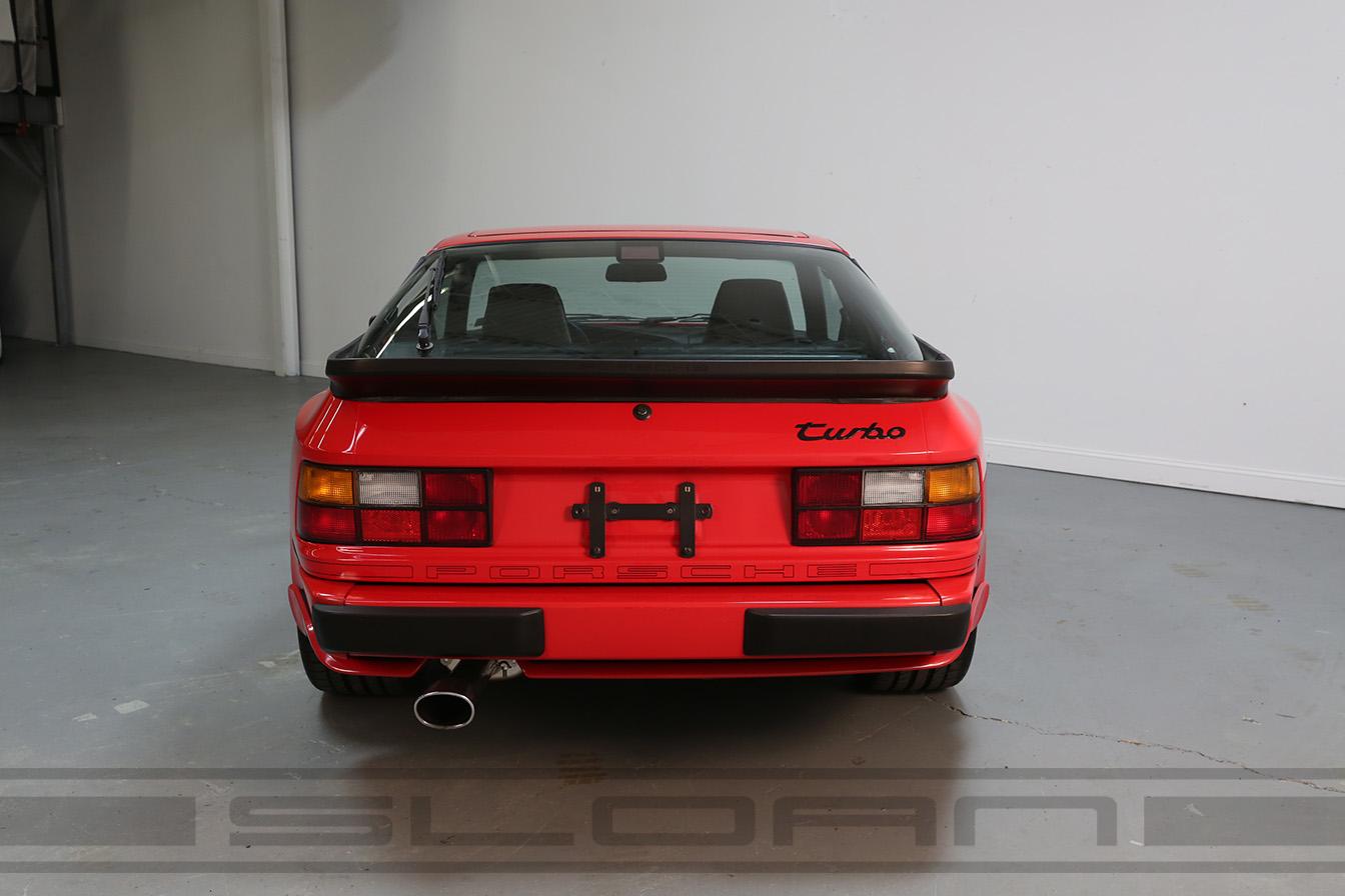 1988 Porsche 944 Turbo Guards Red Black 49616 Miles Sloan Motor Cars Timing Belt