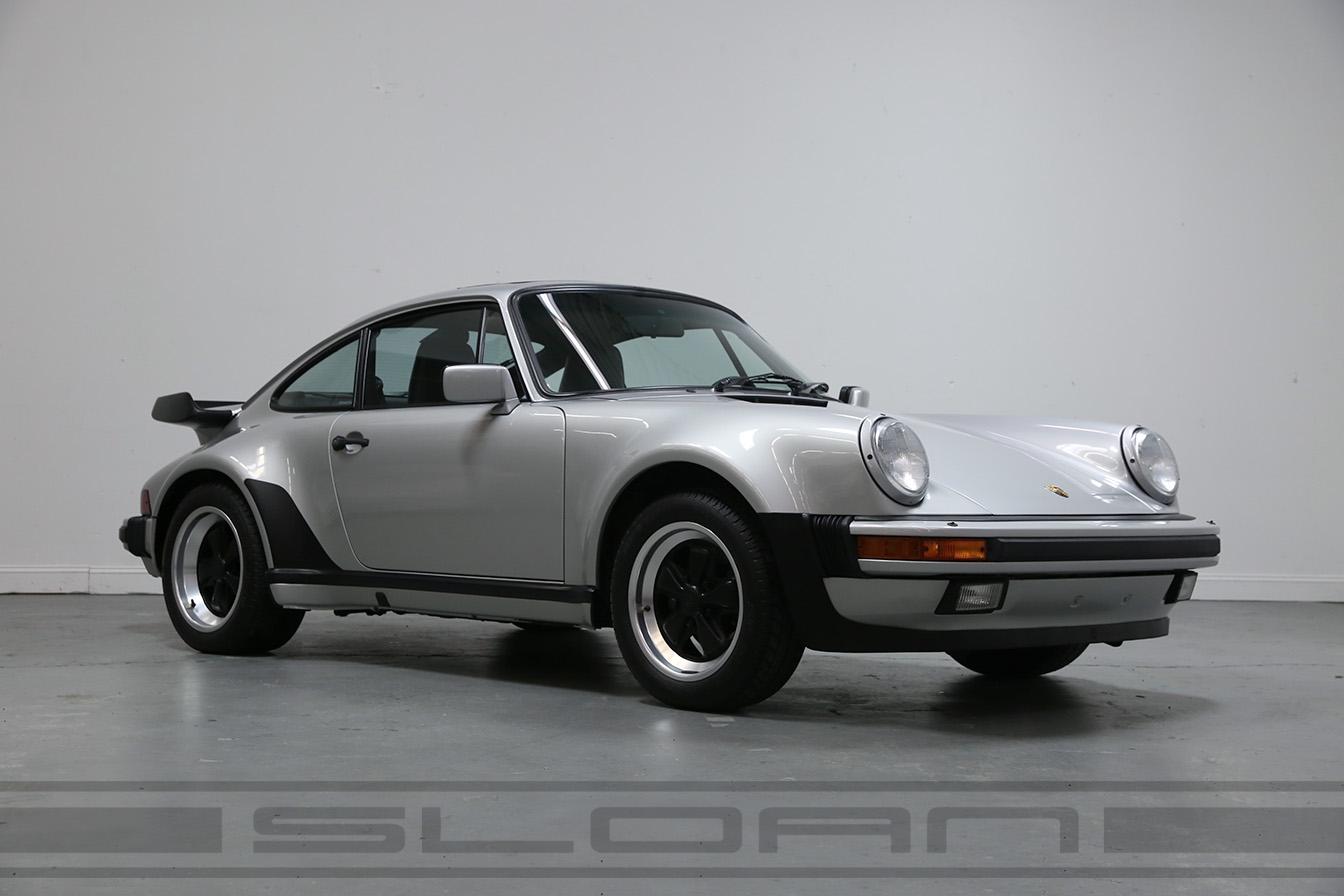 1988 930 Silver Metallic Black Sport Seats 11 241 Miles Sloan Motor Cars