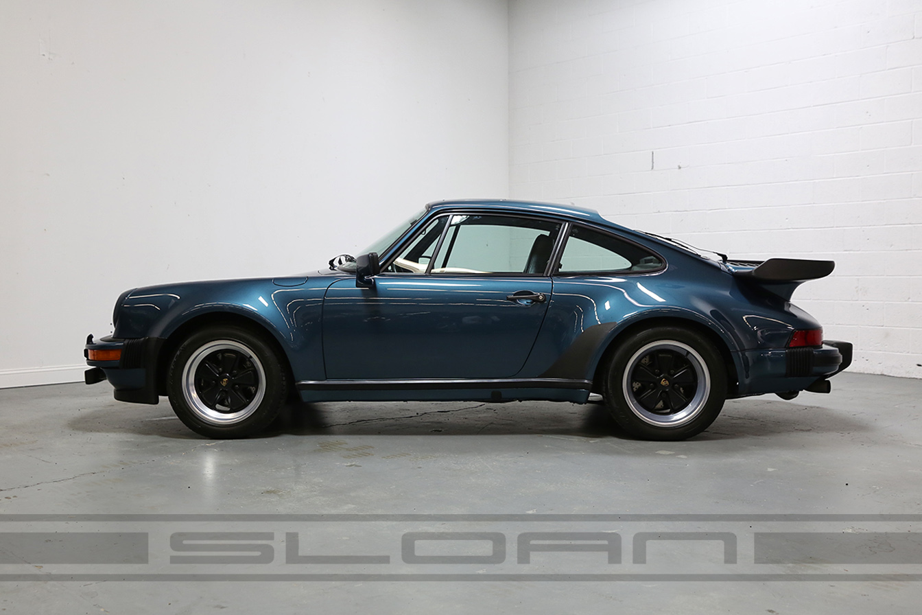 1979 Porsche 911 Turbo Petrol Blue Metallic Black 34 818 Miles Sloan Motor Cars